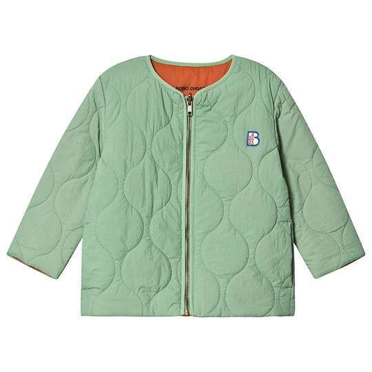 Bobo Choses Quilted Reversible Jacket Aspen Green Aspen Green