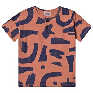 Image of Bobo Choses Abstract Buttoned T-shirt i Heather Rose 8-9 år (1573589)