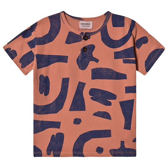 Bobo Choses Abstract Buttoned T-shirt Heather Rose Heather Rose