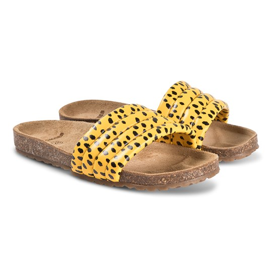 Bobo Choses All Over Leopard Sandals Spectra Yellow Spectra Yellow