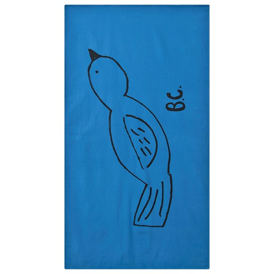 Bobo Choses Bird Beach Towel Azure Blue Azure Blue