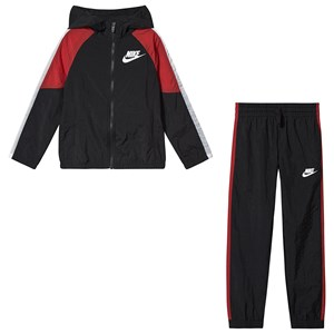 Image of NIKE Woven Tracksuit Sort/Rød L (12-13 years) (1551099)