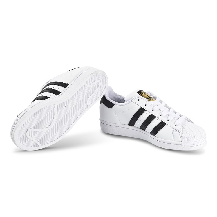 adidas Originals Superstar Joggesko Hvit og Svart