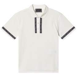 Versace Branded Polo White