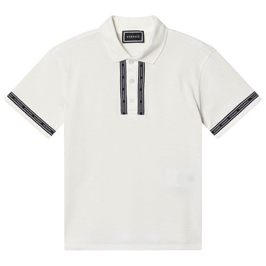 Versace Branded Polo White A1002