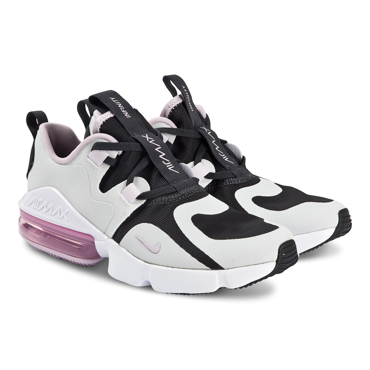 NIKE Air Max Infinity Junior Sneakers Off Noir and Iced Lilac