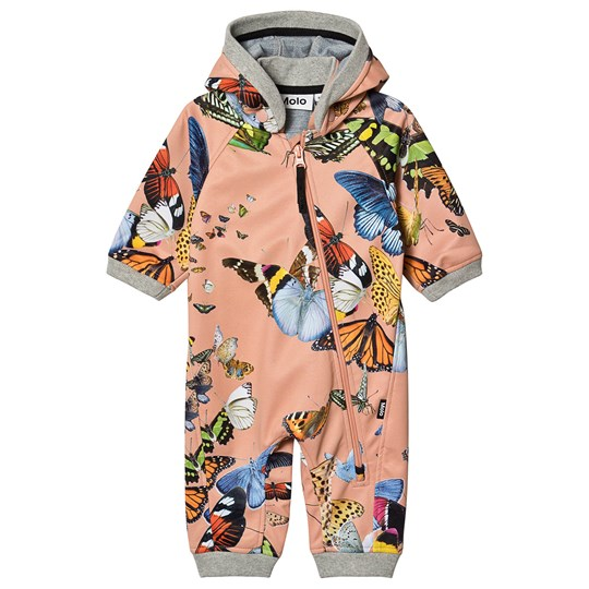 Molo Hill Soft Shell Coverall Flying Butterflies Flying Butterflies