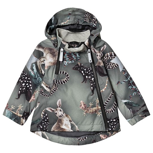 Molo Hopla Jacket Camo Bush Animals Camo Bush Animals