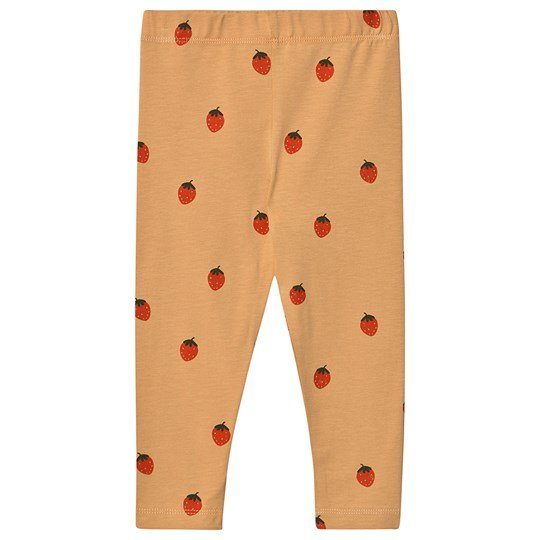Tinycottons Strawberries Leggings Toffee/Red Toffee/Red