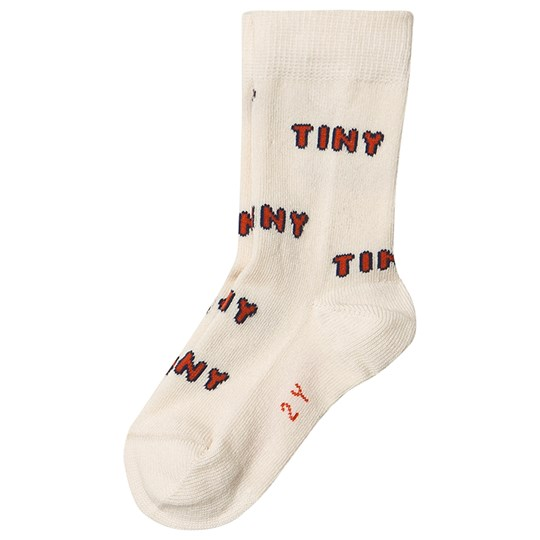 Tinycottons Tiny Medium Socks Light Cream/Red Light Cream/Red