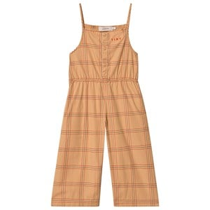 Image of Tinycottons Check Jumpsuit Toffee/Rød 2 år (1522483)