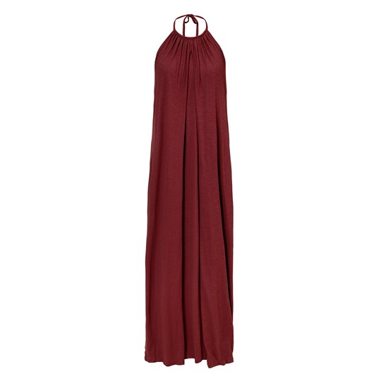 Boob Air Halter Neck Dress Port Red port red