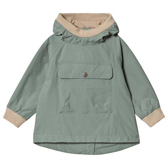 Mini A Ture Baby Vito Anorak Jacket Chinois Green Chinois Green