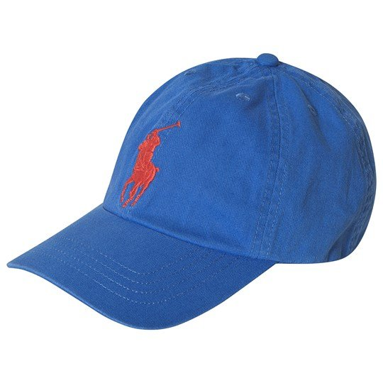 Ralph Lauren Blue with Red Big PP Cap 002