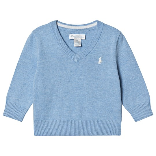 Ralph Lauren V-Neck Sweater Light Blue 022