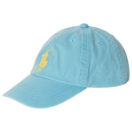 Ralph Lauren Big Polo Player Caps Aqua 001