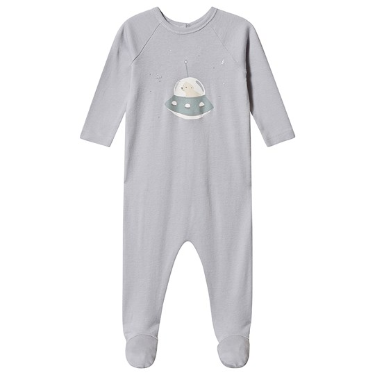 Bonpoint Space Polar Bear Footed Baby Body Pale Blue 110