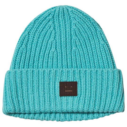 Acne Studios Mini Pansy Beanie Turquoise Turquoise/brown
