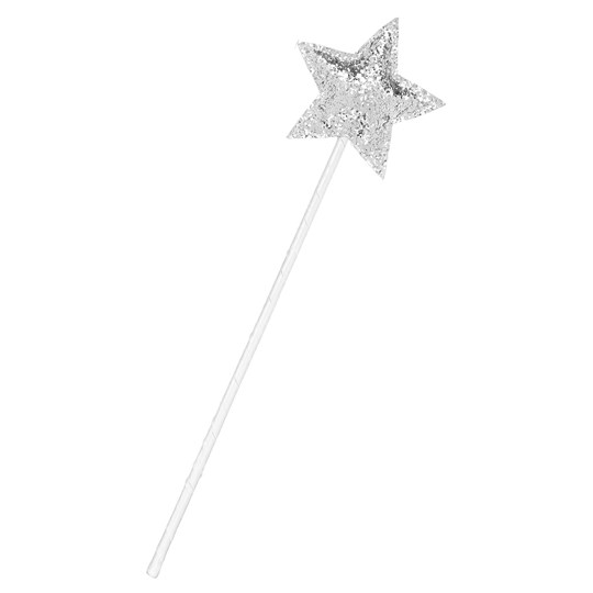 Mimi & Lula Star Fairy Wand Silver/White
