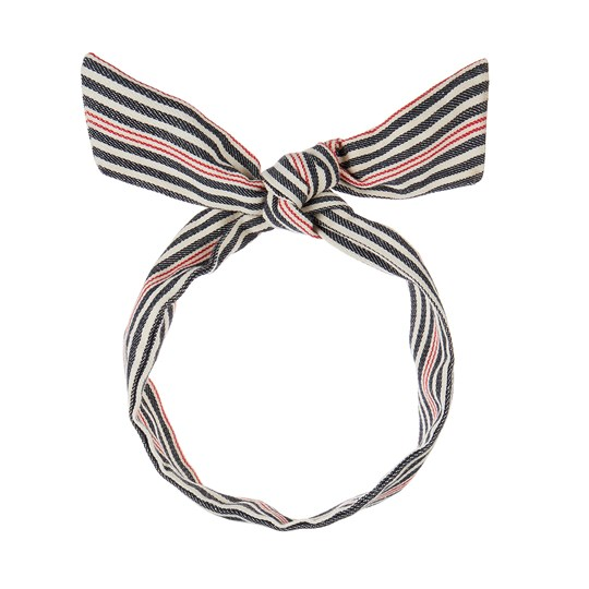 Mimi & Lula Nautical Tie Headband Navy 12