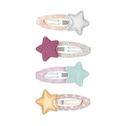 Mimi & Lula 4-Pack Tokyo Star Hair Clips Floral Mix