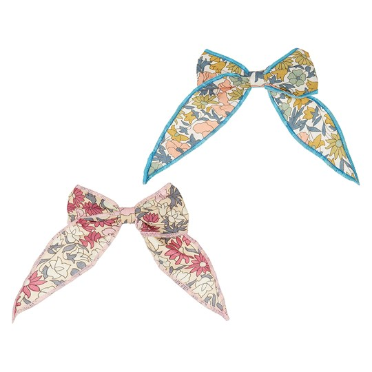 Mimi & Lula 2-Pack Floral Bows Pink/Blue 23