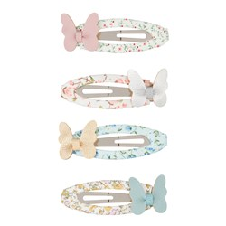 Mimi & Lula 4-Pack Butterfly Hair Clips Pastel