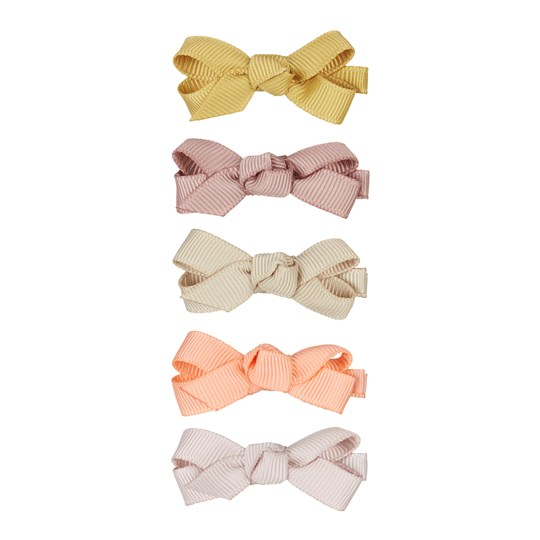 Mimi & Lula 5-Pack Florence Bow Hair Clips Pink Mix 62