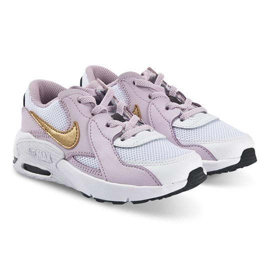 NIKE Air Max Excee Sneakers White and Iced Lilac 102