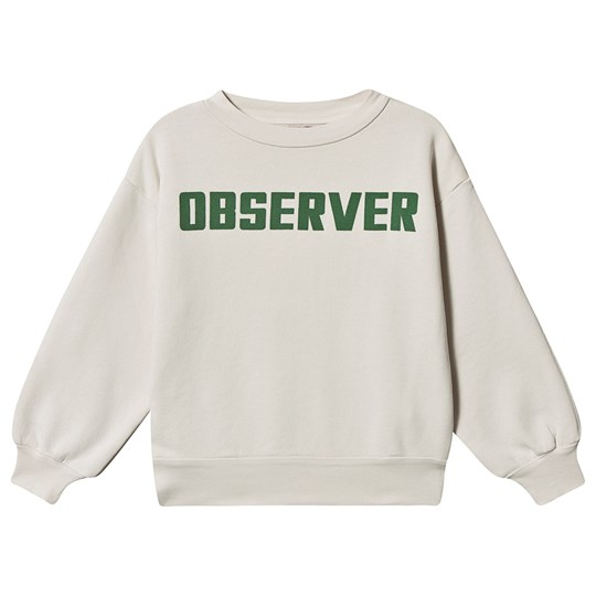 The Animals Observatory Bear Sweatshirt White Observer WHITE OBSERVER