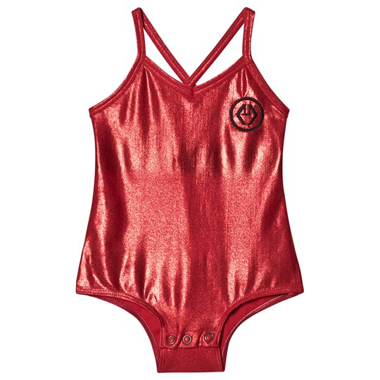 The Animals Observatory Trout Bodysuit Red Logo RED LOGO
