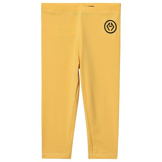 The Animals Observatory Swimmer Alligator Leggings Yellow Logo Yellow Logo