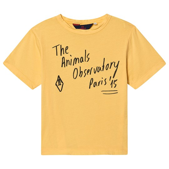 The Animals Observatory Rooster Oversize T-Shirt Yellow/The Animals YELLOW THE ANIMALS