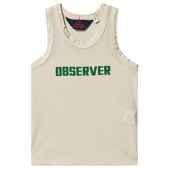 The Animals Observatory Frog Tank Top White Observer WHITE OBSERVER