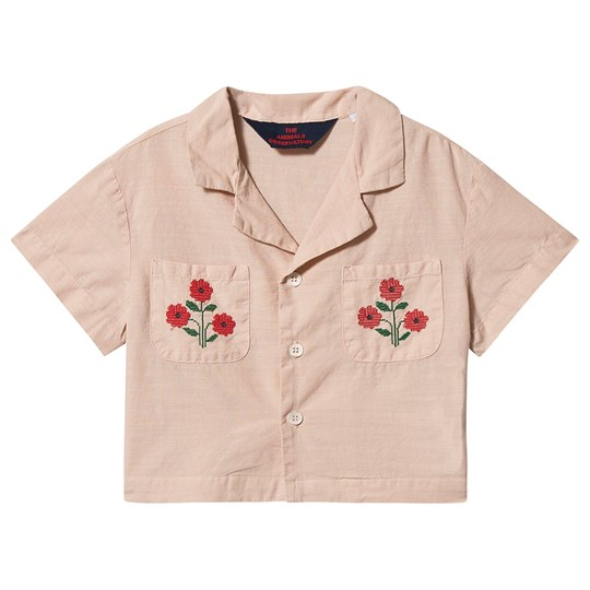 The Animals Observatory Kangaroo Shirt Rose Flowers Rose Flowers