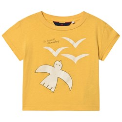 The Animals Observatory Rooster T-Shirt Yellow Birds