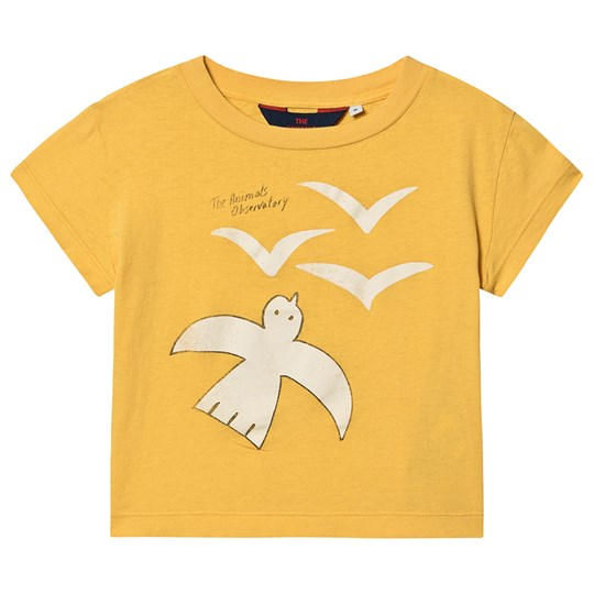 The Animals Observatory Rooster T-Shirt Yellow Birds YELLOW BIRDS