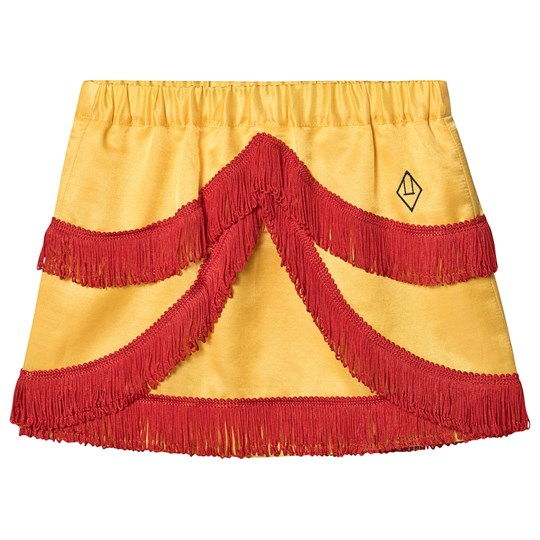 The Animals Observatory Bird Skirt Yellow Logo Yellow Logo