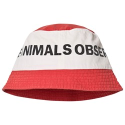The Animals Observatory Starfish Hatt Röd Logo/The Animals 53 cm