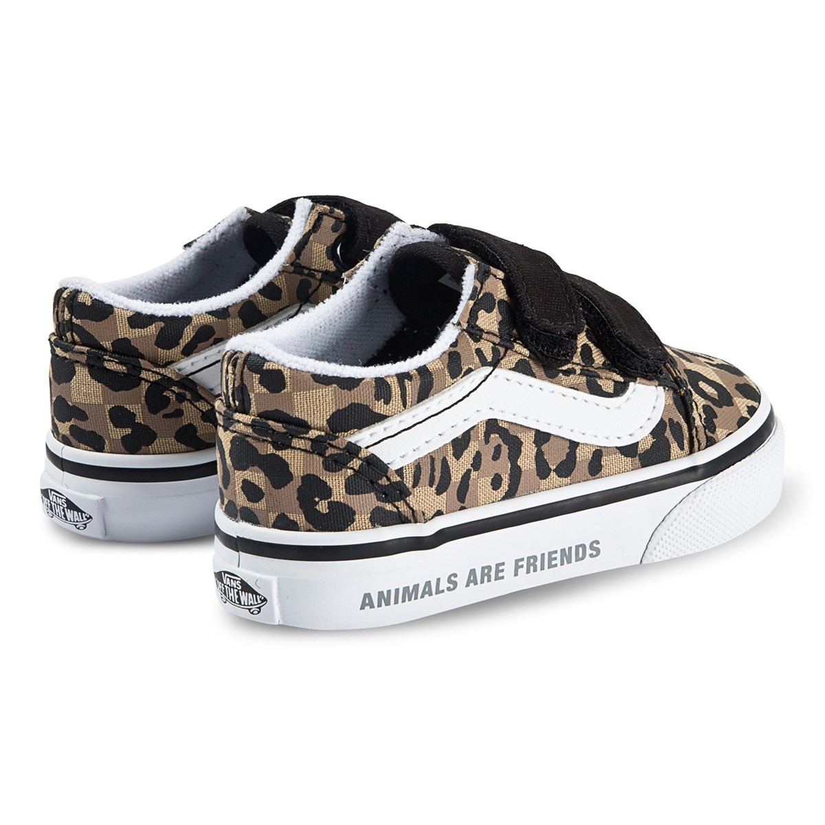 Womens Vans Leopard Print Authentic Platform Animal