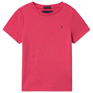 Image of Tommy Hilfiger Small Flag T-Shirt T-Shirt Lys Cerise Pink 8 years (1532194)