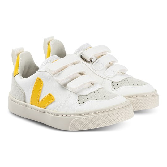 Veja V-10 Lace Sneakers White and Tonic WHITE TONIC