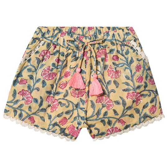 Louise Misha Vallaoid Shorts Lemon Flowers Lemon Flowers