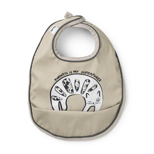Elodie Baby Bib Kindness Cat Kidness Cat