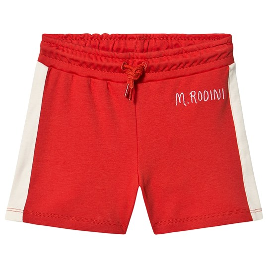 Mini Rodini Rugby Shorts Red Red