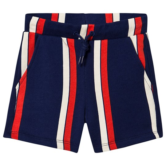 Mini Rodini Randiga Shorts Blå Blue