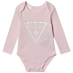 Guess Icon Baby Body with Giftbox Pink