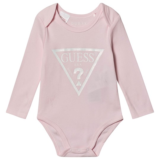 Guess Icon Baby Body with Giftbox Pink G6A5