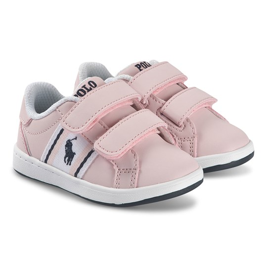 Ralph Lauren Oaklynn Kids Sneakers Light Pink LIGHT PINK SMOOTH