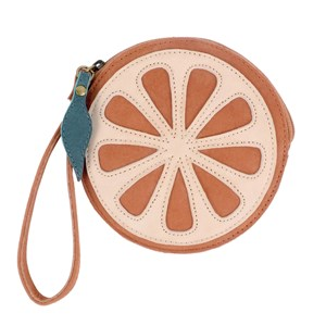 Image of Donsje Amsterdam Nanoe Frugt Coin Pouch Grapefruit One Size (1497554)
